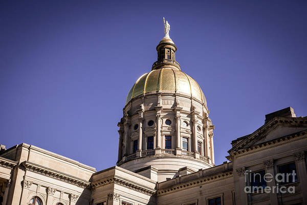 Photograph - Georgia State Capitol Building - Atlanta Ga 1 by Sanjeev Singhal