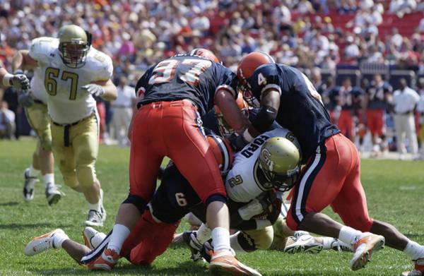 Georgia Photograph - Georgia Tech V Syracuse X by Ezra Shaw