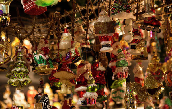 Wall Art - Photograph - German Christmas Ornaments by Iris Richardson