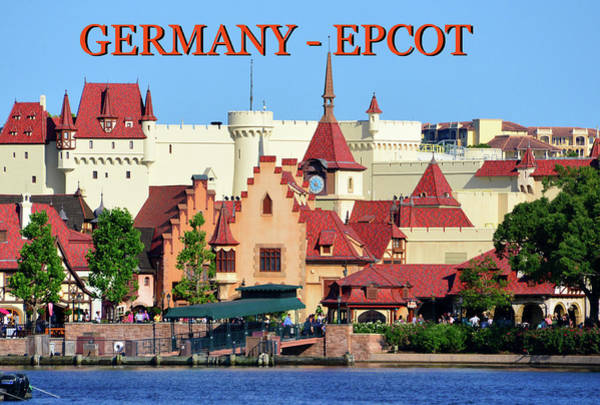 Wall Art - Photograph - Germany At Epcot Telephoto by David Lee Thompson
