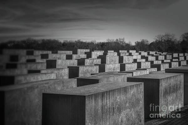 Wall Art - Photograph - Germany - Holocaust Memorial In Berlin by Stefano Senise