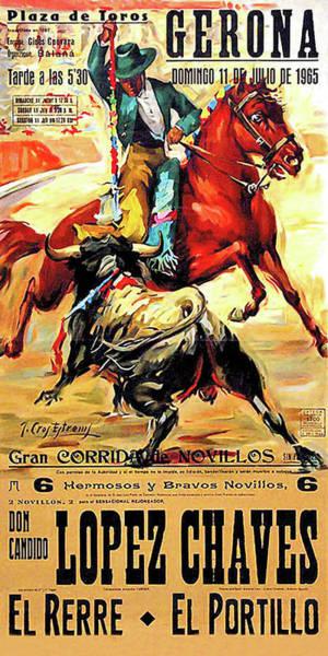 Matador Wall Art - Digital Art - Gerona by Long Shot