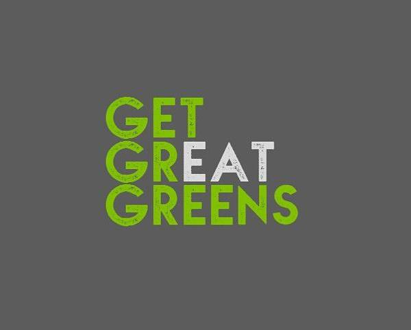 Drawing - Get Great Greens - Green And Gray by Charlie Szoradi