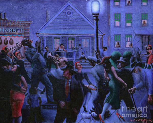 Wall Art - Painting - Gettin Religion, 1948 by Archibald Motley