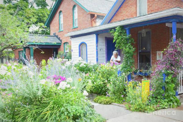 Photograph - Getting Ready For Buffalo's Garden Walk 2019 by Marilyn Cornwell