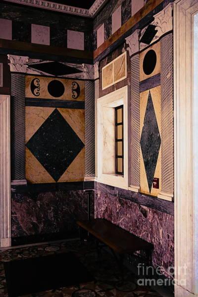 J Paul Getty Photograph - Getty Villa Interior  by Chuck Kuhn