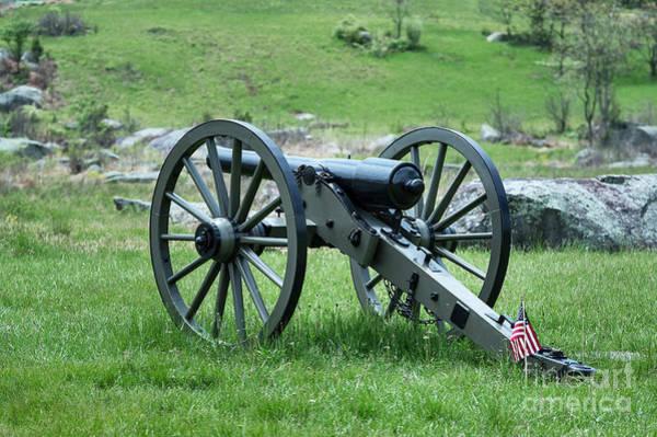 Wall Art - Photograph - Gettysburg Cannon by John Greim