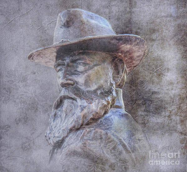 Wall Art - Digital Art - Gettysburg Longstreet Monument by Randy Steele