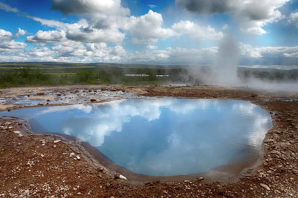 Photograph - Geysir Hot Pot Iceland 6281901 by Rick Veldman
