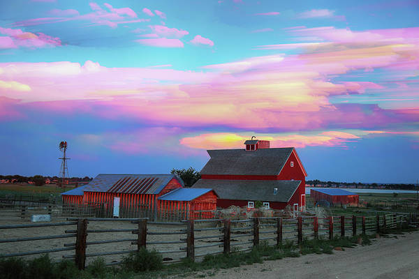 Photograph - Ghost Horses Pastel Sky Timed Stack by James BO Insogna