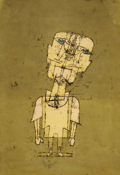 Wall Art - Painting - Ghost Of A Genius, 1922 by Paul Klee