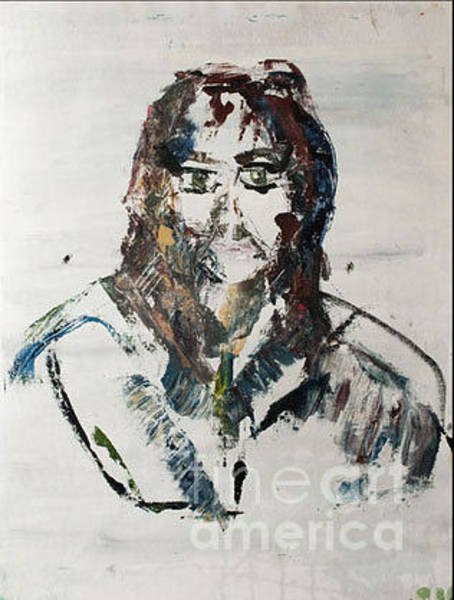 Mixed Media - Ghost Portrait by Siobhan Dempsey