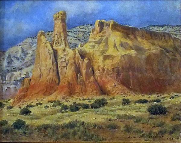 Andrew Jackson Wall Art - Painting - Ghost Ranch by Andrew Jackson