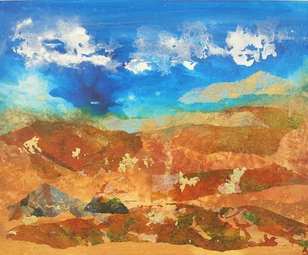 Wall Art - Painting - Ghost Ranch by Aura Dez