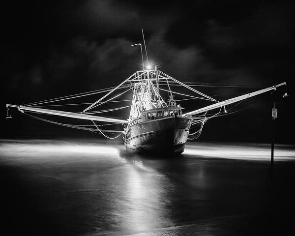 Photograph - Ghost Ship by Dillon Kalkhurst
