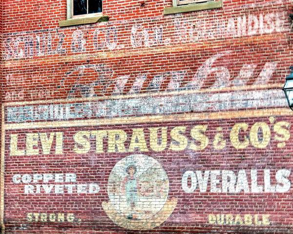Photograph - Ghost Sign by Jerry Sodorff