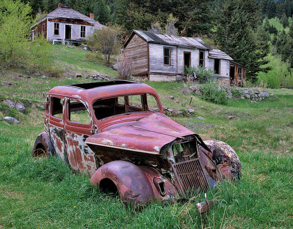 Mining Photograph - Ghost Town by Leland D Howard