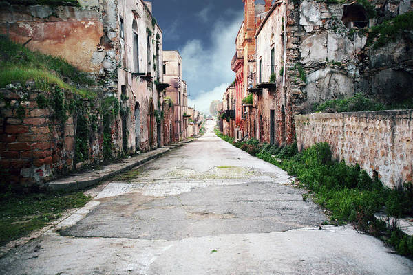 Residential Area Photograph - Ghost Town by Peeterv