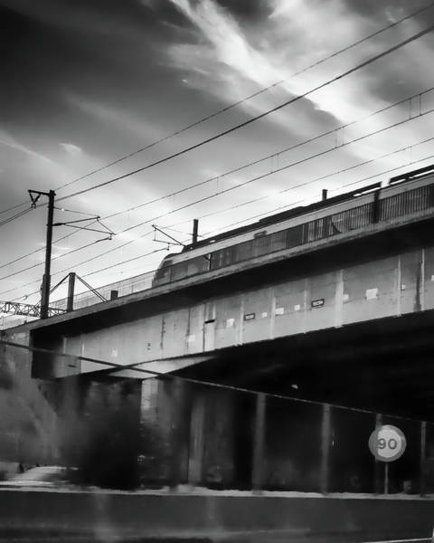 Photograph - Ghost Train by Borja Robles