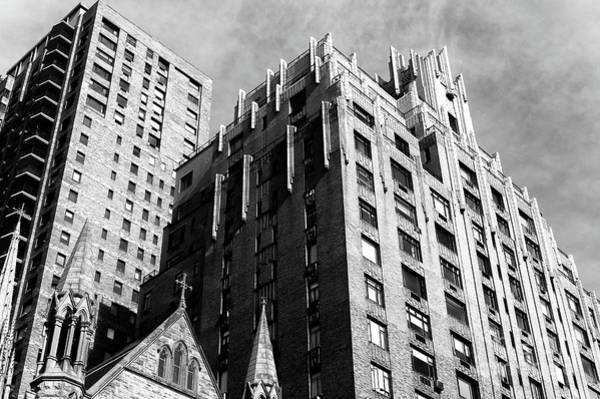 Photograph - Ghostbusters Building In New York City by John Rizzuto