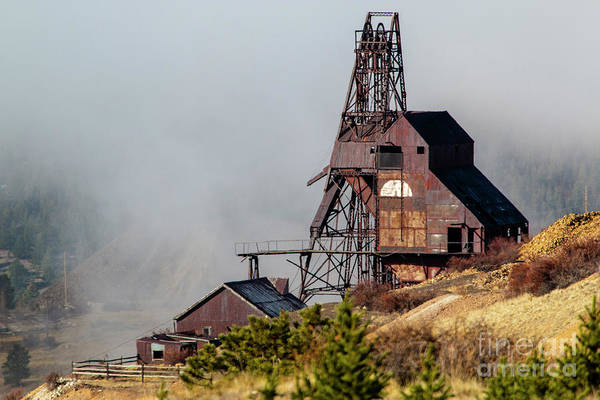 Photograph - Ghostly Abandoned Mine by Steve Krull