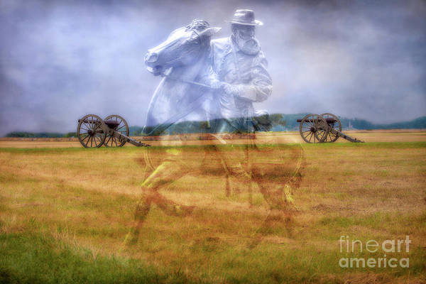 Ghosts Of Gettysburg Longstreet Art Print