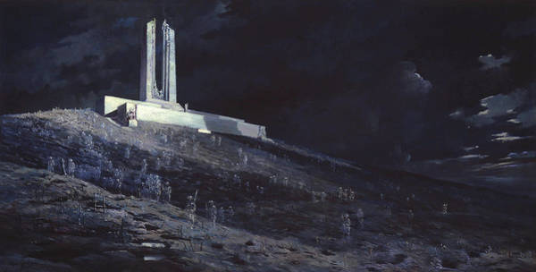 Wall Art - Painting - Ghosts Of Vimy Ridge by Will Longstaff