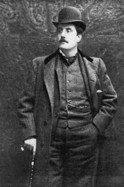 Composer Photograph - Giacomo Puccini by Hulton Archive