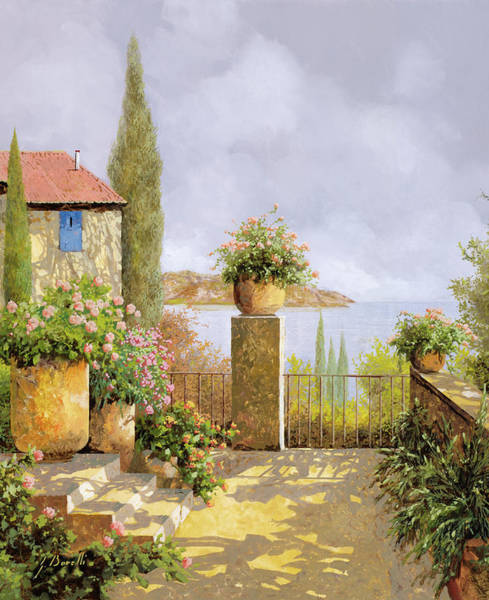 Fine Painting - Giallo Morbido by Guido Borelli