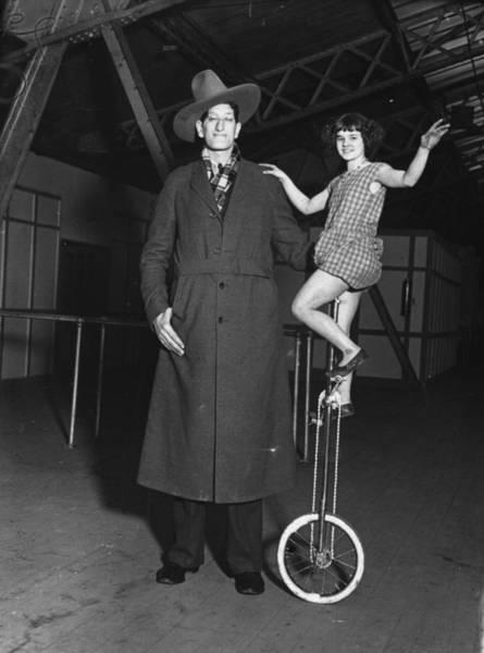 Garment Photograph - Giant Cowboy by J Gaiger