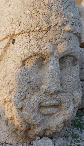 Photograph - Giant Head Of Heracles,  Tumulus by Steve Estvanik