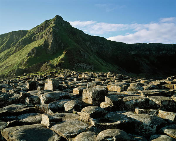 Wall Art - Photograph - Giant S Causeway,co Antrim,northern by The Irish Image Collection