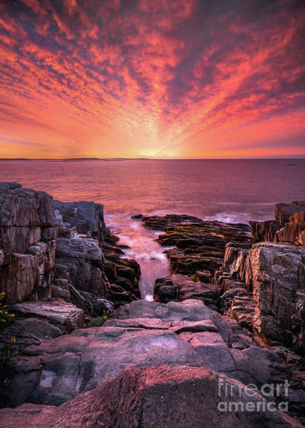 Wall Art - Photograph - Giant Stairs Radiant Sunrise by Benjamin Williamson