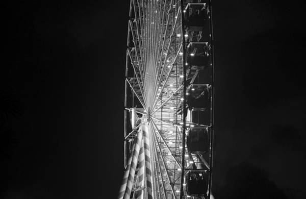 Wall Art - Photograph - Giant Wheel Fine Art Work A by David Lee Thompson