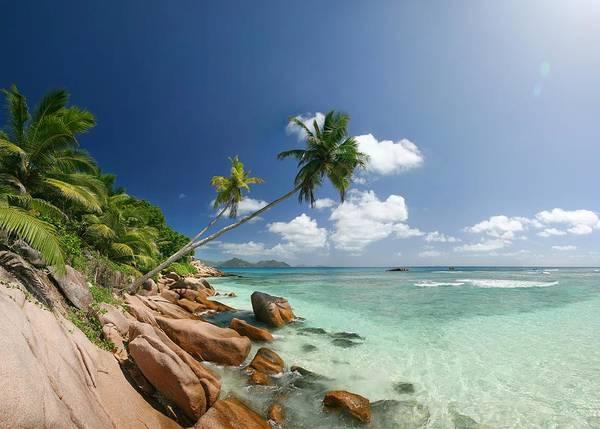 Snorkeling Photograph - Giant Wide Angle Panorama Shot by Mac-b
