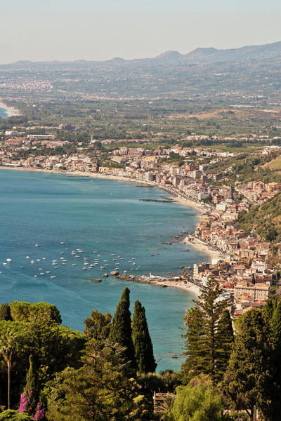 Sicily Photograph - Giardini Naxos, Messina, Sicily by Latitudestock - Mel  Longhurst