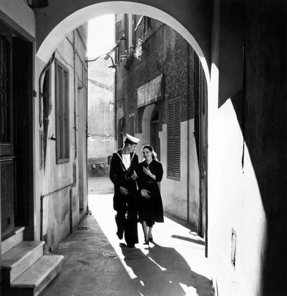 Boyfriend Photograph - Gibraltar Leave by Bert Hardy