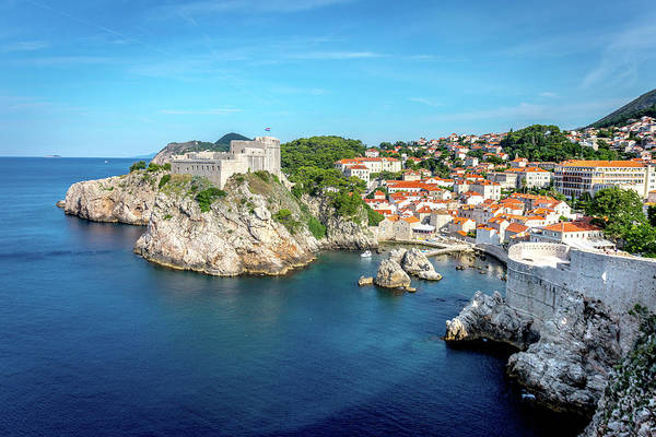 Wall Art - Photograph - Gibraltar Of Dubrovnik by W Chris Fooshee
