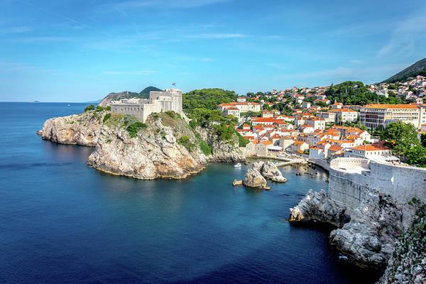 Dubrovnik Photograph - Gibraltar Of Dubrovnik by W Chris Fooshee