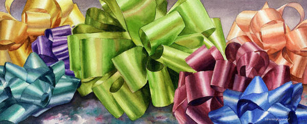 Painting - Gifts by Anne Gifford