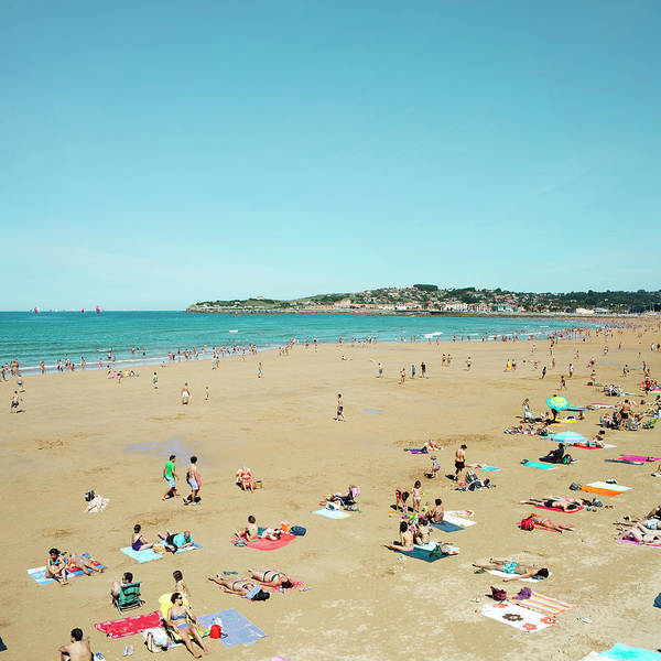 Photograph - Gijon Beach by Roc Canals Photography