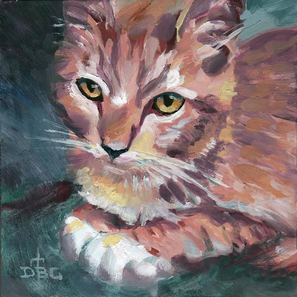 Painting - Gilligan by David Bader