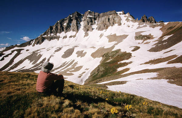 San Juan Mountains Photograph - Gilpin Paek From Yankee Boy Basin On by Witold Skrypczak