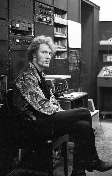 Content Photograph - Ginger Baker Backstage by Michael Ochs Archives