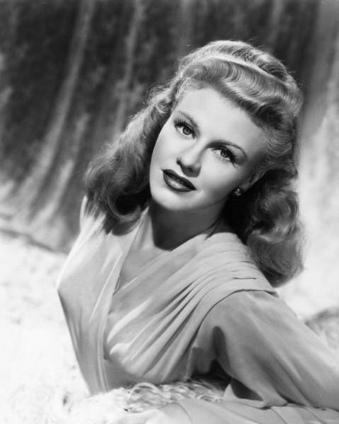 Cushion Photograph - Ginger Rogers by Hulton Archive