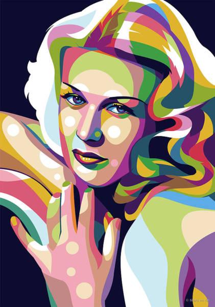 Dancing Digital Art - Ginger Rogers Pop Art by Stars-on- Art
