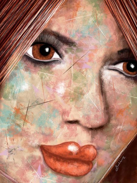 Painting - Ginger by Sannel Larson