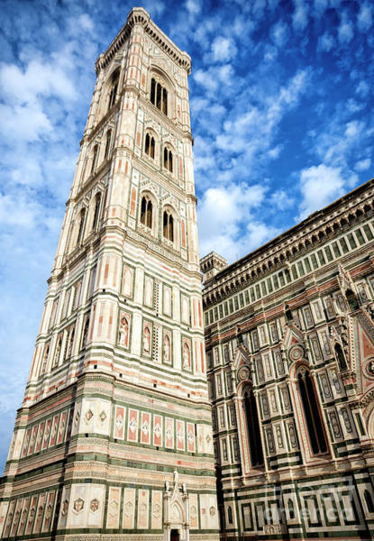 Photograph - Giotto's Bell Tower In Florence by John Rizzuto