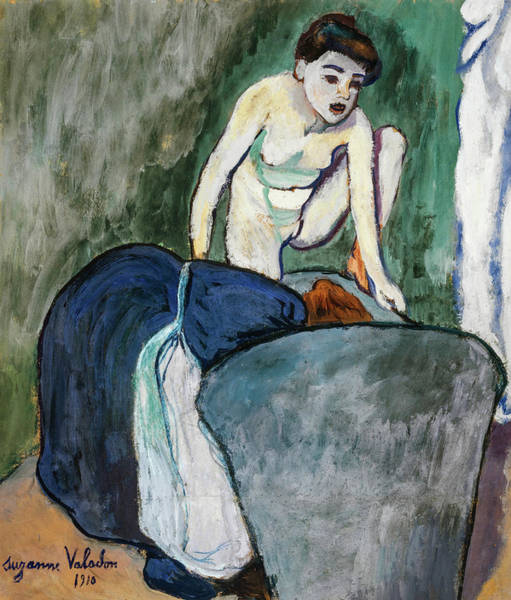 Wall Art - Painting - Girl, 1910 by Suzanne Valadon