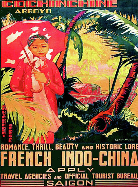 Wall Art - Digital Art - Girl From Ho Chi Minh by Long Shot